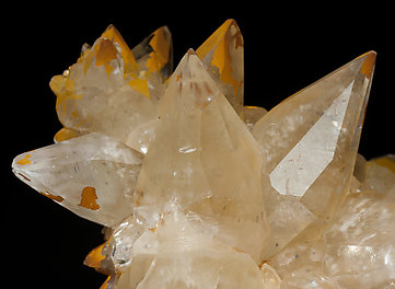 Twinned Calcite.