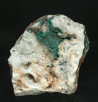 Pseudomalachite with Quartz.