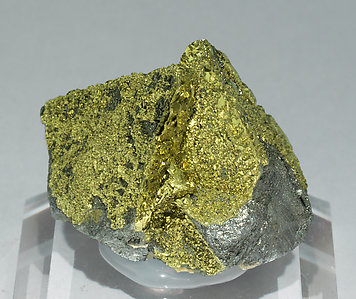 Chalcopyrite with Tetrahedrite. Rear