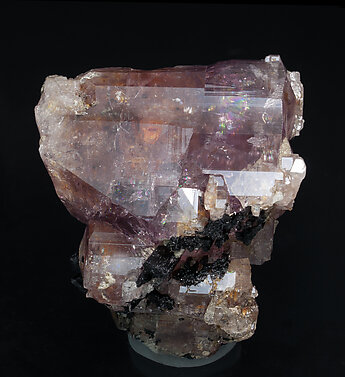 Fluorapatite with Tourmaline.
