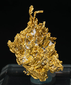 Gold on Quartz. Front