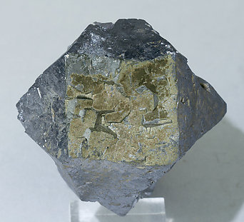 Galena with Pyrite and Fluorite. Top