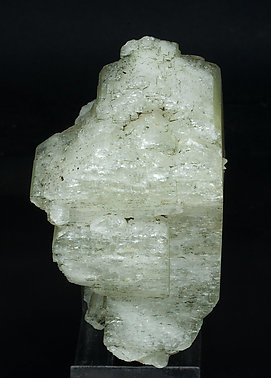 Orthoclase (variety adularia) with Chlorite. Rear