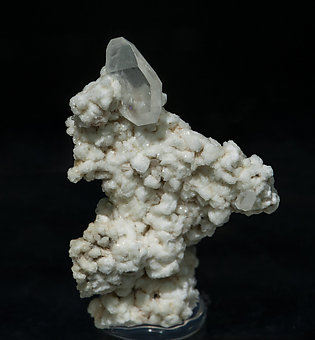 Stokesite with Albite and Muscovite. Front