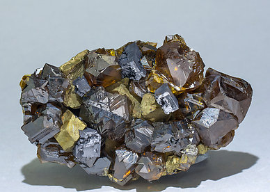 Sphalerite with Chalcopyrite and Galena.