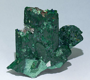 Malachite after Azurite. Front