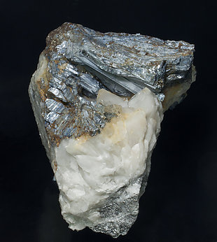 Stibnite with Quartz.